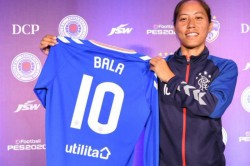 Bala Devi 1st Indian Woman To Become A Professional Footballer After Being Signed By Rangers Fc