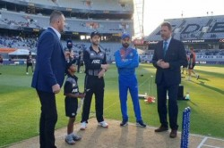India Vs New Zealand 2nd T20i New Zealand Have Won The Toss And Have Opted To Bat
