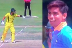 India Vs Australia U19 Star Kartik Tyagi Dismisses Australia Batsman After Being Sledged