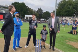 New Zealand Vs India 3rd T20i New Zealand Have Won The Toss And Have Opted To Field