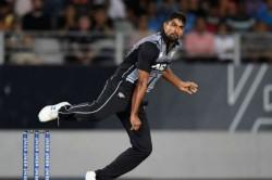 New Zealand Vs India 4th T20i Ish Sodhi Strikes India Loss Six Wickets