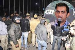 Gautam Gambhir Rohan Bopanna Among Sportspersons To Condemn Jnu Violence