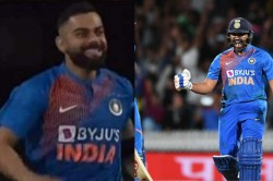 Watch Virat Kohli Jumps Like A Kid Runs To Hug Rohit Sharma After Hitmans 2 Match Winning Sixes