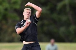 Injury Hit New Zealand Call Country S Tallest Bowler Kyle Jamieson For India Odis
