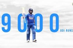 Rohit Sharma Completes 9 000 Odi Runs