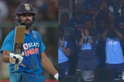 Twitter Reactions Rohit Sharma Slams A Ton In Series Decider Against Australia