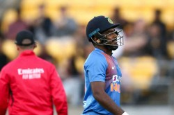 India Vs New Zealand Sanju Samson Criticised For Playing Reckless Shot Squandering An Opportunity