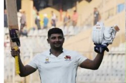 Ranji Trophy Sarfaraz Khan Follows Up Triple Hundred With 199 Ball Double Vs Himachal