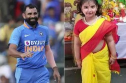 Love You So Much Mohammed Shami Showers Love On Daughter Adorable Saree Picture