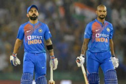 India Vs Australia 2nd Odi Shikar Dhawan Virat Kohli Pair Complets 3000 Odi Runs