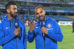 Shikhar Dhawan Trolls Rishabh Pant After Kl Rahul S Brilliant Wicket Keeping In Rajkot Odi
