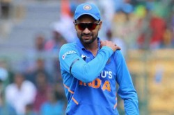 India Vs Australia Shikhar Dhawan S New Zealand Tour In Doubt After Fresh Shoulder Injury
