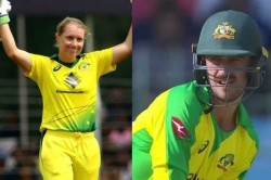 India Vs Australia Mitchell Starc S Wife Alyssa Healy Reacts To His Dismissal