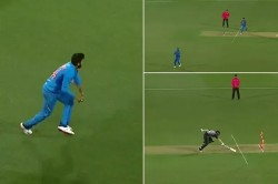 Watch Virat Kohli Finds Colin Munro Short Of His Crease With A Inch Perfect Throw In 4th T20i