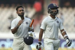 Ajinkya Rahane S Advice To Rishabh Pant Has To Accept He Is Going Through Rough Patch
