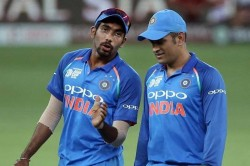 Jasprit Bumrah Reveals The Advice He Received From Ms Dhoni In Debut Game