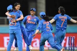 Australia Women Vs India Women Poonam Shikha Joins Forces As India Shock Australia