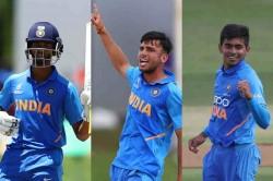 Yashasvi Jaiswal Ravi Bishnoi Kartik Tyagi Named In Icc U19 World Cup Team Of The Tournament