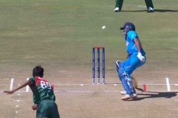 Ban U19 Bowler Tanzim Hasan Almost Hits Divyansh Saxena With A Wild Throw