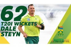Dale Steyn Becomes South Africa S Leading T20i Wicket Taker In Comeback Match