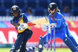 Deepti Sharma Gets Sri Lanka Opener Umesha Thimashini