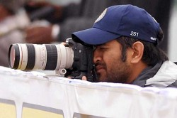 Cricketer Ms Dhoni Turns Wildlife Photographer Shares Image Of Tiger At Kanha National Park