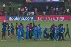 Altercation Between Players Overshadows Bangladesh S Historic Win Over India In U 19 World Cup Final