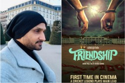 Harbhajan Singh To Make Acting Debut With Tamil Film Friendship See Poster