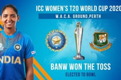 Icc Women S T20 World Cup 2020 Bangladesh Women Have Won The Toss And Have Opted To Field