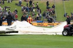 India Vs New Zealand 1st Test Rain Plays Spoilsport After Rahane Pant Fight