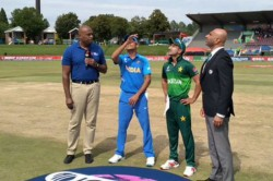 Icc U19 Cwc India V Pakistan Semi Final Pakistan U19 Have Won The Toss And Have Opted To Bat