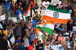 India And New Zealand Indian Fan Abuses Commentator Banned From Entering Bay Oval