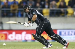 India Vs New Zealand 2nd Odi Guptill Taylor Fifties Take New Zealand To 273 Fo