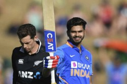 India Vs New Zealand 1st Odi Shreyas Iyer 103 Kl Rahul 88 Set New Zealand 348 To Win