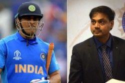 Msk Prasad Says As Big A Fan Of Ms Dhoni As Anyone Else