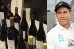 Ross Taylor Presented With 100 Wine Bottles To Mark His 100th Test Appearance