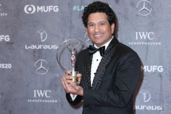 Sachin Tendulkar Wins Laureus Sporting Moment Award For 2011 World Cup Victory