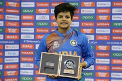 Shafali Verma Says Want To Thank My Father And All The Boys I Practiced With