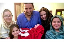 Former Pakistan Cricketer Shahid Afridi Blessed With A Fifth Baby Girl