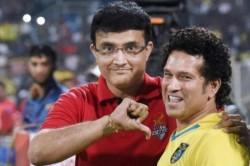 Sourav Ganguly Takes Funny Dig At Sachin Tendulkar Again
