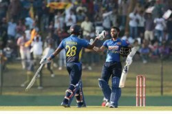 Sri Lanka Vs West Indies 345 8 In 50 Overs But Not A Single Six Hit Sri Lanka Create World Record
