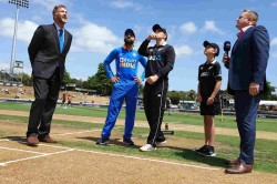 India Vs New Zealand 1st Odi New Zealand Have Won The Toss And Have Opted To Field