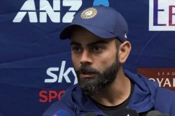 I M Batting Really Well Virat Kohli Plays Down Poor Run Of Form In New Zealand Tour