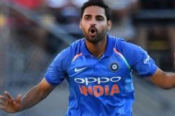 Bhuvneshwar Kumar Said Indian Players Might Limit Usage Of Saliva For Shining Ball