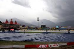 India Vs South Africa 1st Odi Rain Playing Hide And Seek In Dharmasala