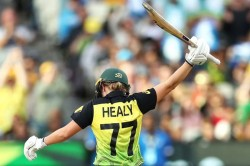 Icc Women S T20 World Cup Radha Yadav Gets Alyssa Healy For