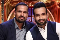 Irfan Pathan Shows Off Acting Skills With Brother Yusuf Pathan