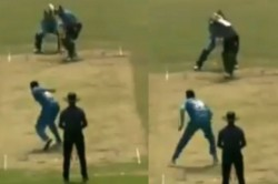 Bangladesh S Mahmudullah Uses Elbow To Celebrate After Taking Wicket In A Dpl Game