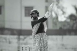 Watch Mithali Raj Inspires India Women By Playing Cricket In Saree Ahead Of T20 Wc Final