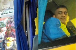 Ipl 2020 Fans Follow Csk Bus To Their Practice Session For Catching A Glimpse Of Ms Dhoni